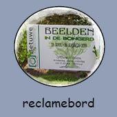 Reclamebord / Tuinbord